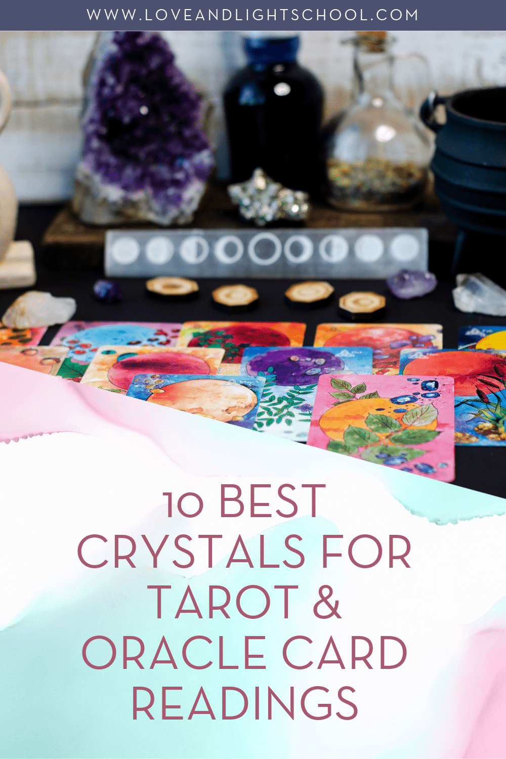 10 best crystals for Tarot