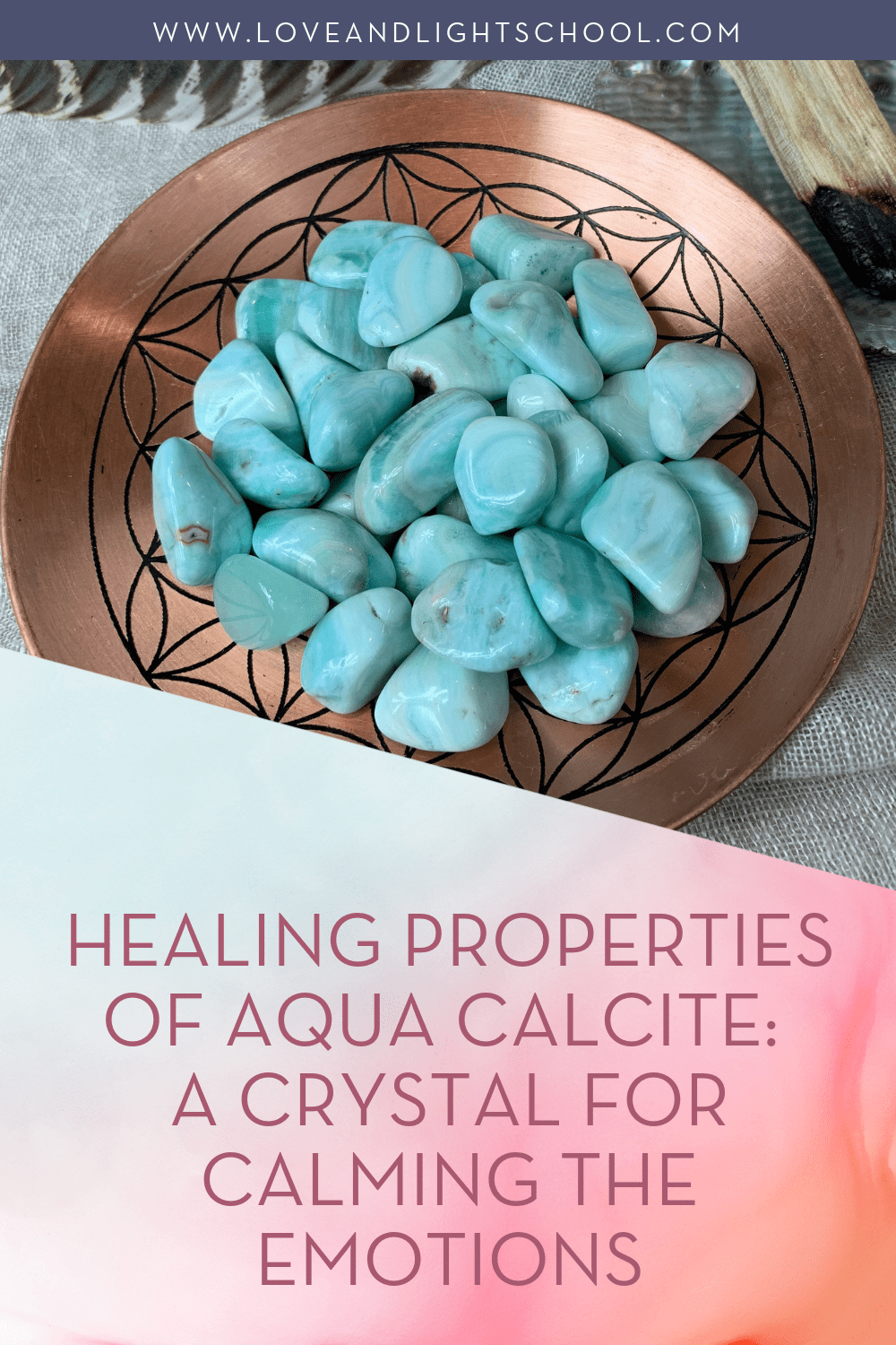 Healing Properties of Aqua Calcite: A Crystal for Calming the Emotions