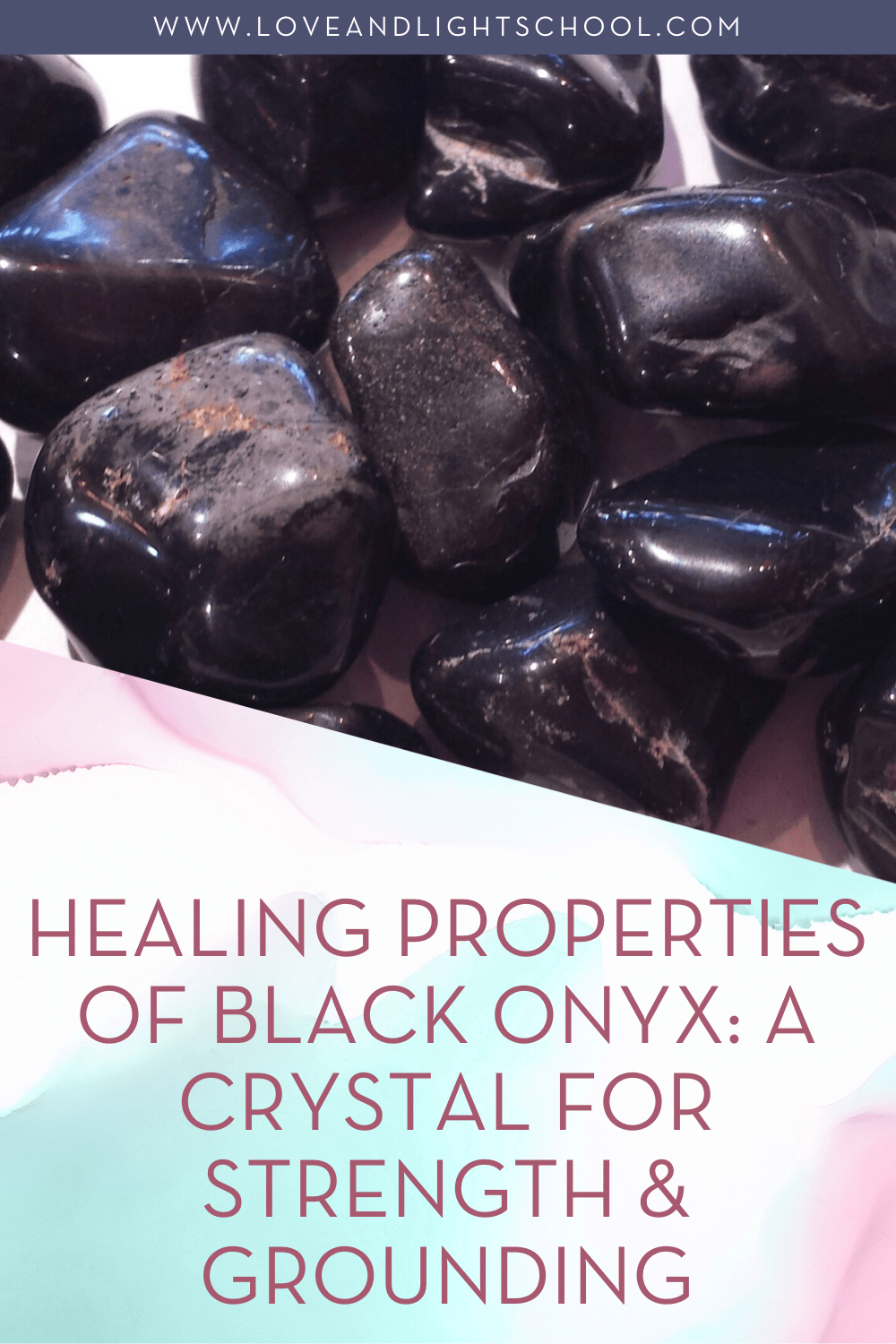 Healing Properties of Black Onyx: A Crystal for Strength & Gorunding