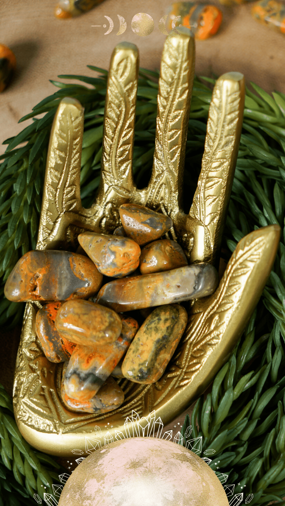 Healing Properties of Bumblebee Jasper: A Crystal for Happiness & Celebration