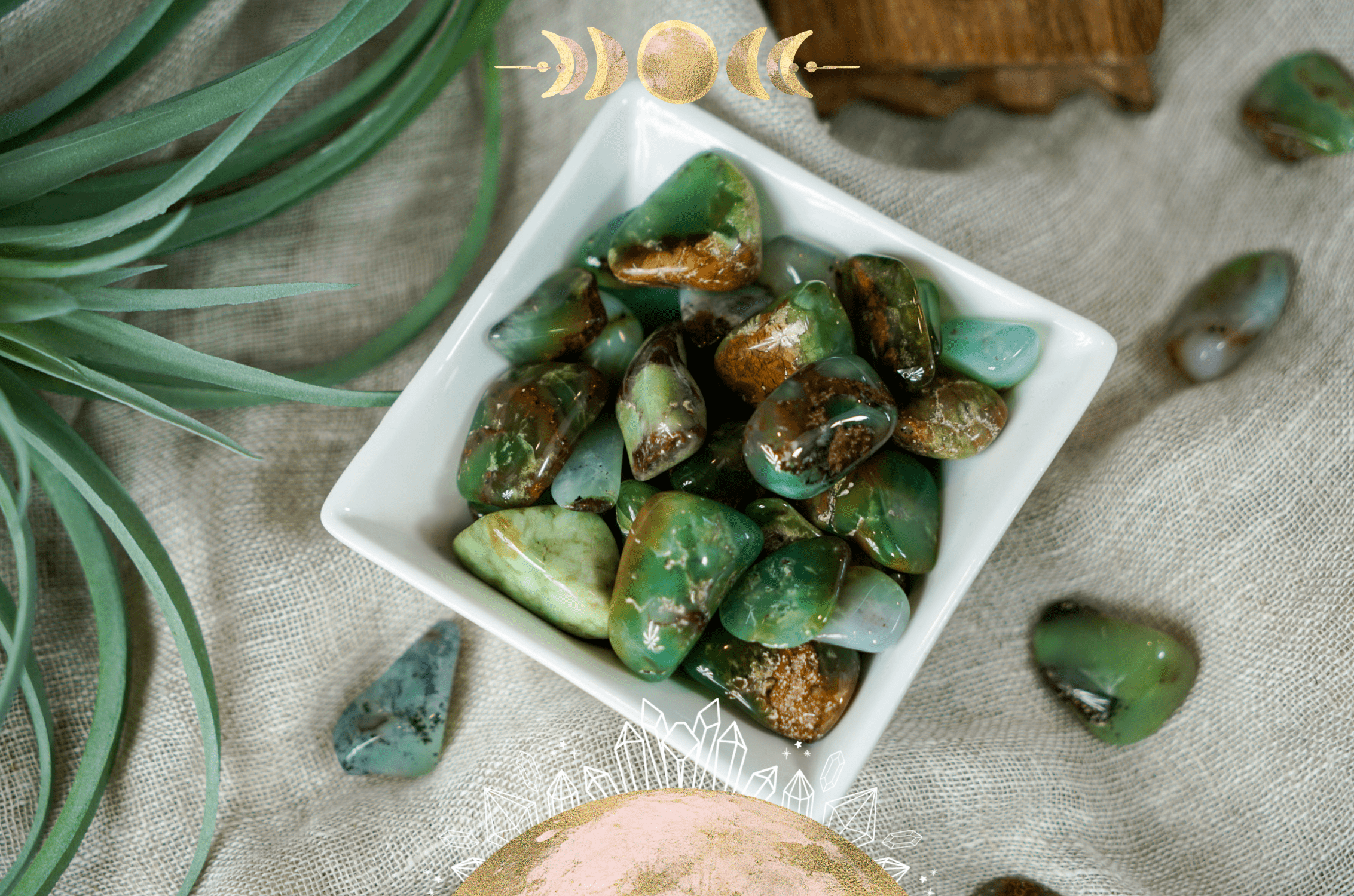 Healing Properties of Chrysoprase: A Crystal for Compassion & Self-Reliance